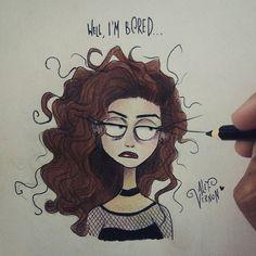 Lorde by Alef Vernon Tim Burton Drawings Style, Tim Burton Art Style, Tim Burton Stil, Tim Burton Kunst, Tim Burton Artwork, Cartoon Kunst, Cartoon Art, Desenhos Tim Burton, Drawing Sketches