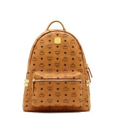 MCM STARK BACKPACK COGNAC - MCM #Christmas #ChristmasGift #Holiday #HolidaySeason #HolidayCelebs
