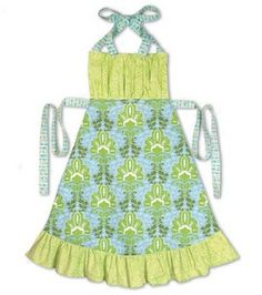 cute apron tutorial from JoAnns