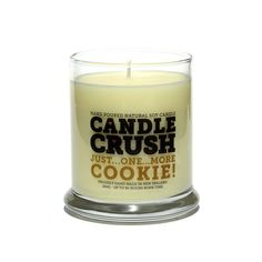 Candle Crush - Just...One...More...Cookie Soy Candle