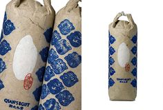 Ancient way of packaging rice in Chinachina