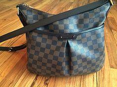 Louis Vuitton Bloomsbury Brown Cross Body Bag $912