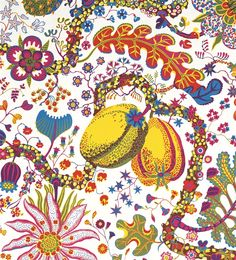 Josef Frank, Brazil ANother Beautiful FAbric Swatch - Living Room Reupholster/Color Inspiration
