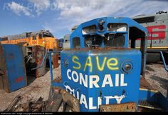 RailPictures.Net Photo: CR 6932 Conrail EMD SD38 at Alorton, Illinois by Marshall W. Beecher