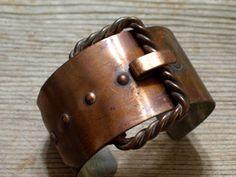 Renoir Copper Cuff Vintage RENOIR Copper Bracelet by TheCopperCat