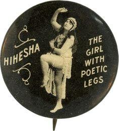 Hihesha - The Girl With Poetic Legs