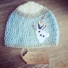 Crochet Olaf Hat by CrochetCottageGifts on Etsy Crochet Olaf Hat, Crochet Hats, Ear Warmers, Beanie Hats, Cottage, Shop, Handmade, Etsy, Color