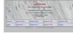 Atlas interactivo on-line de Histología y Organografía Microscópica Comparada, elaborado por el Área de Biología Celular y Anatomía de la Universidad de León. Atlas, Cell Biology, Universe