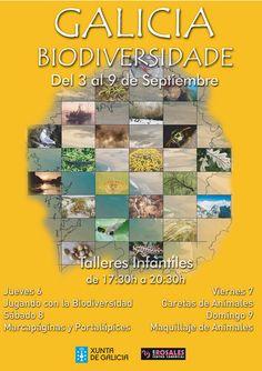 """#Exposición """"Galicia Biodiversidade"""". 3-9 sept."""