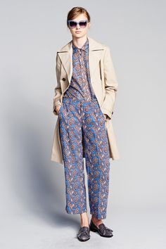 Banana Republic's chic presentation for Spring 2017 featured the unstructured…