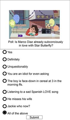 Yep this is so true!!!!! STARCO IS LIFE!!!!!!!!!!