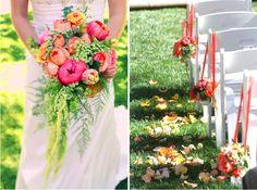 Ideias para casamento. #flores