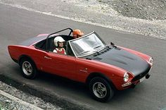 124 Abarth Rally z lat 1972-1975!