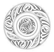 Mandala celtique 5 Coloriage