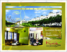 Krish city-1 2bhk property in Bhiwadi The area of the apartment is915 Sqfeet  27.40 Lac Rs.These apartments has fully equipped with luxury & best amenities for your happy life. Flats in Bhiwadi are established in Green area there you can take a power nap for a long time in the pollution free environment and Maintenance of park, Electricity & plumbing etc. by skilled staff.You feel healthy when you are living here. You will change your turncoat about apartments when you see this.