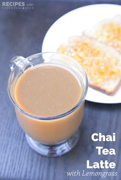 Most days I can sail through without the need for an afternoon caffeine boost, but when I need one I turn to a glass of Chai Tea Latte. | RecipesWithEssentialOils.com