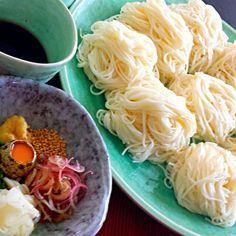 今日はとっても暑いです。 ツルツル冷たい素麺でお昼ごはんにしました。 - 79件のもぐもぐ - 素麺LUNCH♪ by kana000suzuki
