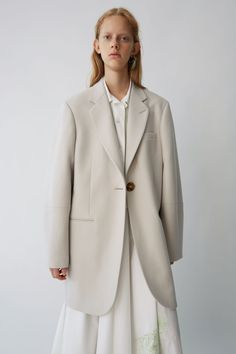 Acne Studios SS18 Ready-to-wear Klarah Flannel Ash Beige
