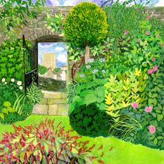 The Gallery - Richmond-based artist Sheila Smithson and her garden themed work - Out & About - Yorkshire Life