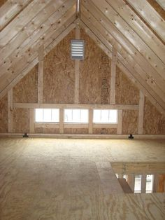 plans for two story wooden shed - Google Search