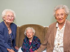 HEALTH SECRETS OF WOMEN OVER 100 These 3 Sisters Are All Over 100 Years Old. Here Are Their Secrets