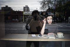 fred herzog self portrait and woman Street Photography People, City Photography, Photography Projects, Abstract Photography, Portrait Photography, Window Photography, Artistic Photography, Lise Sarfati, Fred Herzog