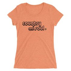 Country and Soul Women's Tri-Blend T-Shirt