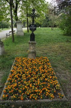 Grave Marker- Josef Madersperger,1768 - 1850, he is one of the inventors of the sewing machine, Cemetery St. Marx Vienna