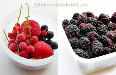 CUM SE CONGELEAZA FRUCTELE MICI - Rețete Fel de Fel Romanian Food, Romanian Recipes, Preserving Food, Good To Know, Preserves, Raspberry, Food And Drink, Cooking, Desserts