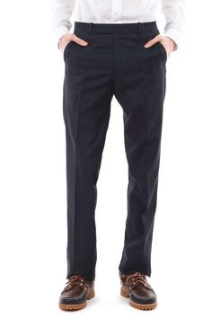 Band Of Outsiders Suit Trousers on Wantering   Men's Trousers   menstrousers #menswear #mensfashion #mensstyle #gif #fashiongifs #bandofoutsiders #wantering http://www.wantering.com/mens-clothing-item/suit-trousers/afq5J/