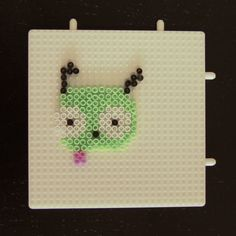 Gir in the making! I use Mini Hama Beads, making small projects perfect as fridge magnets :)