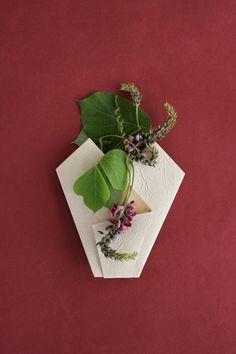 seven autumn flowers card | Origata