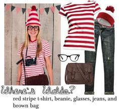 Where's Waldo? Halloween Costume DIY