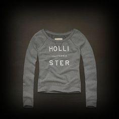 Hollister レディース スウェット ホリスター Bay Park Sweatshirt スウェット トレーナー-アバクロ 通販 ショップ #ITShop