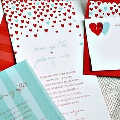 So cute and fun! Kerrys Papery_Wedding Invitations (20)