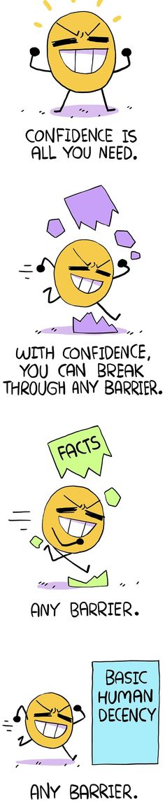 Any barrier with confidence