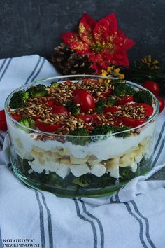 Veggie Recipes, Salad Recipes, Vegetarian Recipes, Cooking Recipes, Healthy Recipes, Tortellini, Tasty, Yummy Food, Side Salad