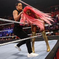 The must-see images of Raw, Sept. 27, 2021: photos Shayna Baszler, Eva Marie, See Images, Wwe Superstars, Punk, Photos, Style, Fashion, Swag