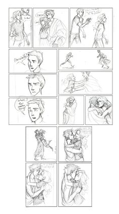 All Along by burdge-bug.deviantart.com on @deviantARTI wish there were a few more panels for Annabeth's excellent reaction to continue (lol) but this is cute.