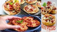 Comidas Rápidas y Fáciles de Hacer para Niños - Mini Pizza