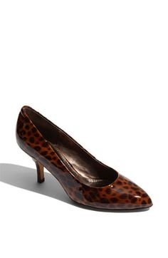 Isolá 'Claret' Leopard Print Pump available at #Nordstrom