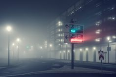 At Night: Photography Series by Andreas Levers - Paysage