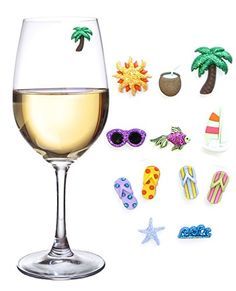 Beach & Sea Magnetic Wine Glass Charms & Markers for Making Glasses Unique - Set of 12 Simply Charmed http://www.amazon.com/dp/B00EZEYHYM/ref=cm_sw_r_pi_dp_qzDJvb0GZNTBD
