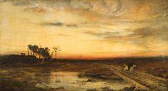 Over the Border by John MacWhirter (Scottish 1839-1911)