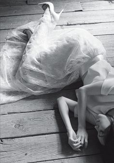 ☽ Dream Within a Dream ☾ Misty Blurred Art and Fashion Photography - Union Magazine #5