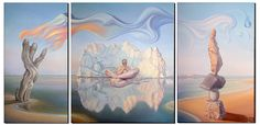 ''patience'' triptych