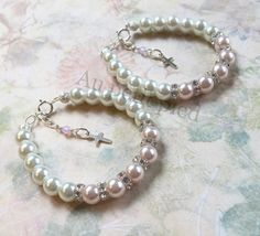 Items similar to Twin bracelets for baptism,christening gift-m baptism gift-newborn jewelry-toddler bracelet-cross jewelry-twin gift-baby shower gift on Etsy Baby Girl Christening Gifts, Baptism Gifts, Baby Fair, Baby Jewelry, Cross Jewelry, Pearl Beads, Cute Gifts, Girly Things, Baby Girls