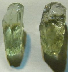 """Prasiolite """"Green Amethyst"""" Some of my first memories are of collecting rocks & minerals, but I admit to not knowing this gemstone until 2008."""
