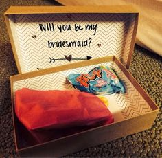 Twins in the Cities: DIY Bridesmaid Boxes
