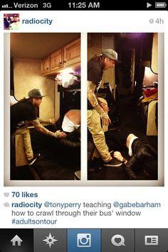Tony Perry (Pierce the Veil) & Gabe Barham (Sleeping with Sirens)